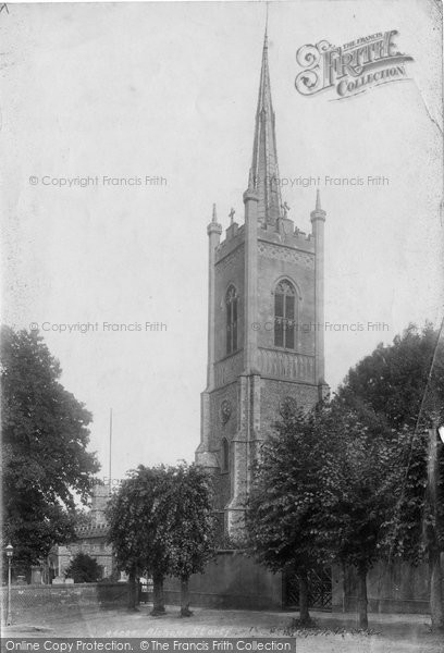 Bishops Stortford, St Michael's Church 1899