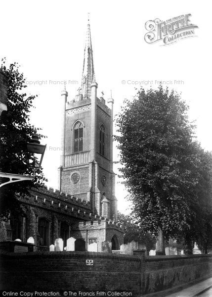 Bishops Stortford, St Michael's Church 1903