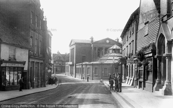 Bishops Stortford, The Corn Exchange 1903