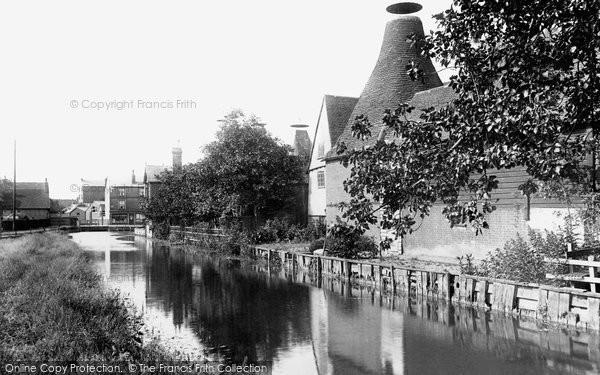 Bishops Stortford, The Maltings On The River Stort 1903