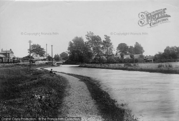 Bishops Stortford, The River Stort 1903