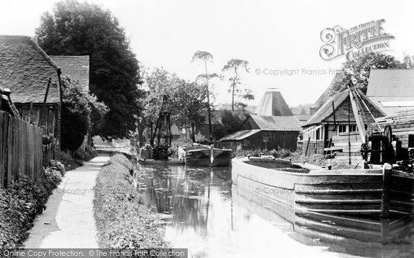 Bishops Stortford, The River Stort c.1950