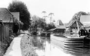 Bishops Stortford, The River Stort c.1950