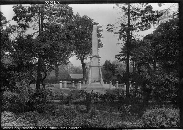 Bishops Stortford, The War Memorial 1922