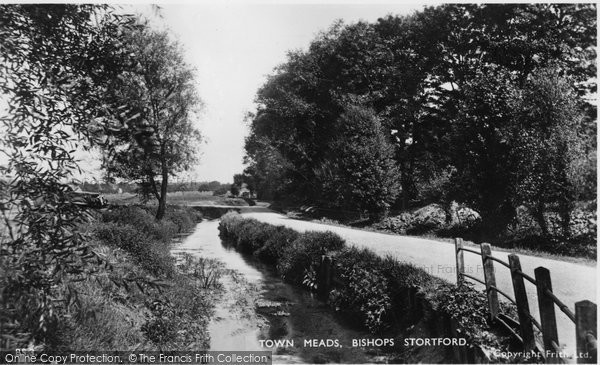 Bishops Stortford, Town Meads c.1950
