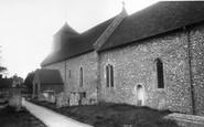 Bishops Sutton, St Nicholas Church c.1960