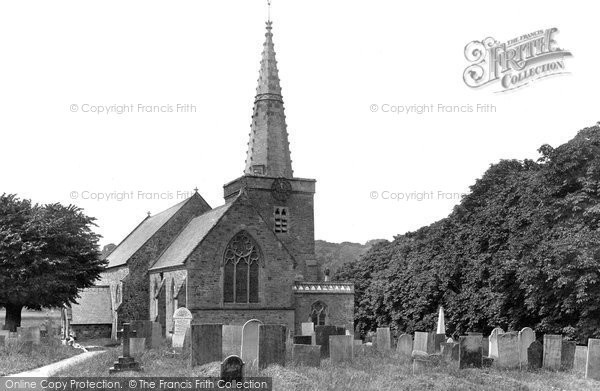 Bishops Tawton, Church Of St John The Baptist 1890