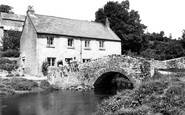 Bishops Tawton, Mill Cottages c1955