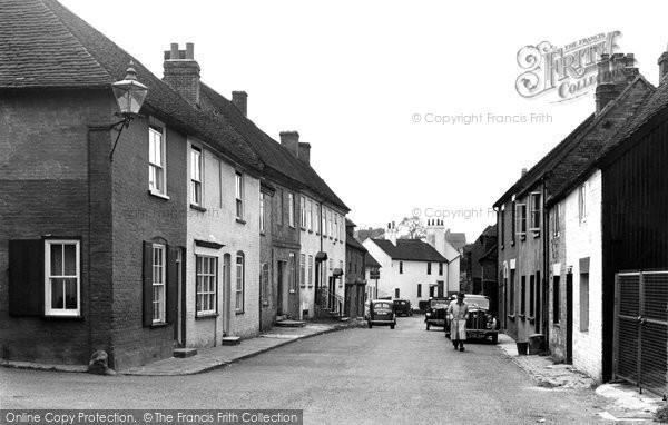 Bishops Waltham, Basingwell Street c.1955