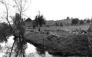 Bishops Waltham, Palace Ruine' c.1955