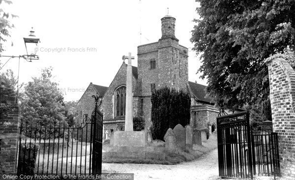 Bishops Waltham, The Church Of St Peter c.1955