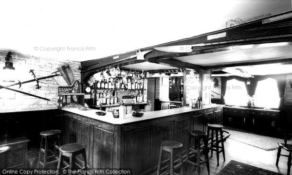 Bishops Waltham, The Crown Inn, The Armoury Bar c.1955