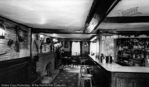 Bishops Waltham, The Crown Inn, The Armoury Bar c.1955