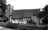 Bishopsbourne, St Mary's Church 1903