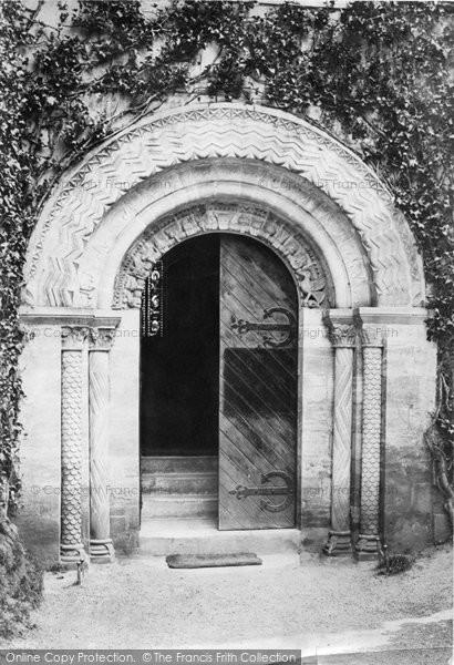 Bishopsteignton, Church Door 1890