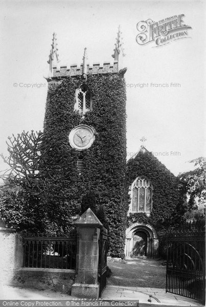 Bishopsteignton, Church Of St John The Baptist 1895