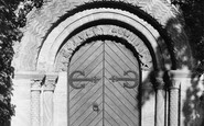 Bishopsteignton, Church West Door 1895