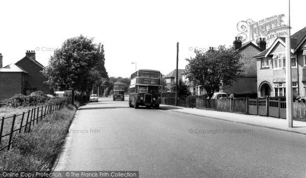 Bishopstoke, Fair Oak Road c.1960