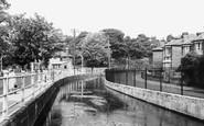 Bishopstoke, Montague Terrace c.1955