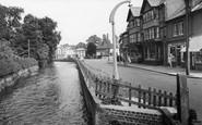 Bishopstoke, Riverside c.1955