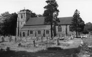 Bishopstoke, St Mary's Church c.1960