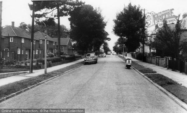 Bishopstoke, Stoke Park Road c.1965