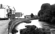 Bishopstoke, The River Itchen c.1960