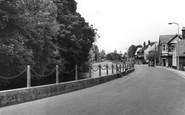 Bishopstoke, The Riverside c.1960
