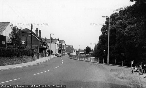Bishopstoke, The Village c.1965