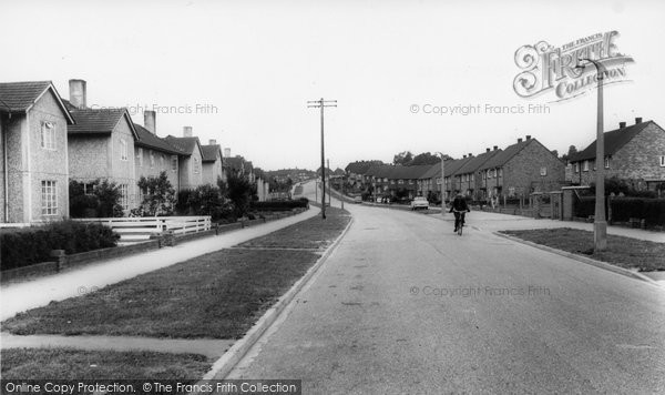 Bishopstoke, Underwood Road c.1965