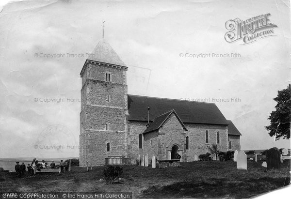 Bishopstone, St Andrew's Church 1891