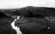 Bishopswood, The Wye From Yat Rock c.1960