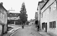 Bisley, High Street 1910