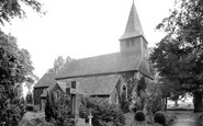 Bisley, St John The Baptist's Church 1911