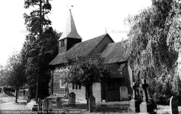 Bisley, St John The Baptist's Church c.1960