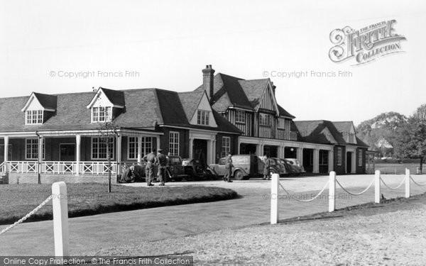 Bisley, The Pavilion c.1955