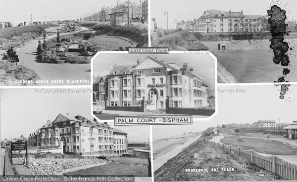 Bispham, Palm Court c.1960