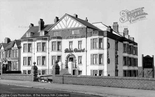 Photo of Bispham, Palm Court Methodist Holiday Home c1955