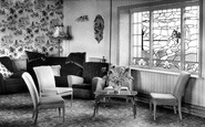 Bispham, the Lounge, Palm Court Methodist Holiday Home c1960