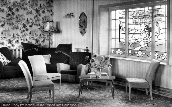 Photo of Bispham, the Lounge, Palm Court Methodist Holiday Home c1960