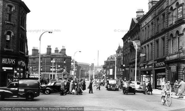 Blackburn, Church Street 1956