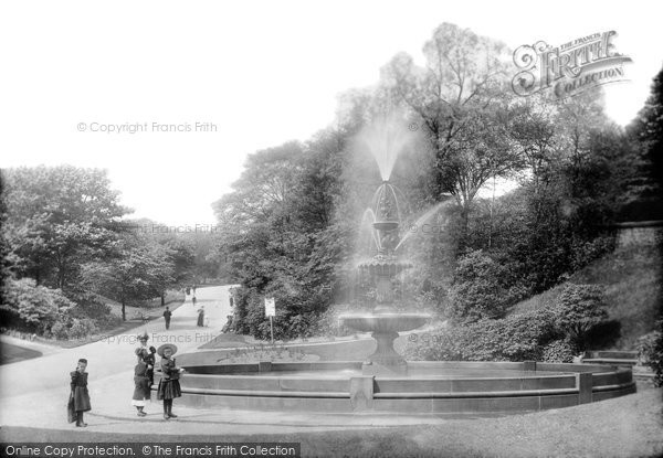 Blackburn, Corporation Park 1899