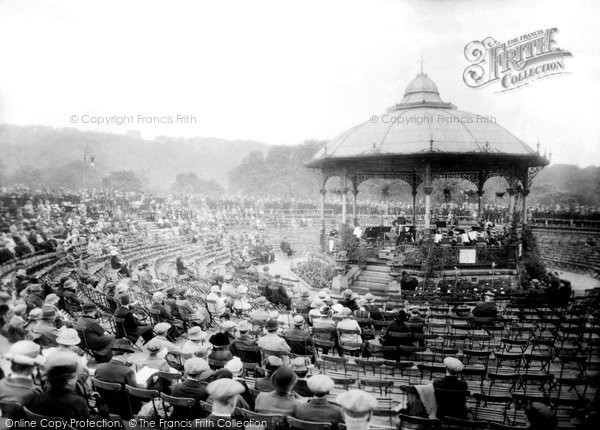Blackburn, Corporation Park, Bandstand 1923