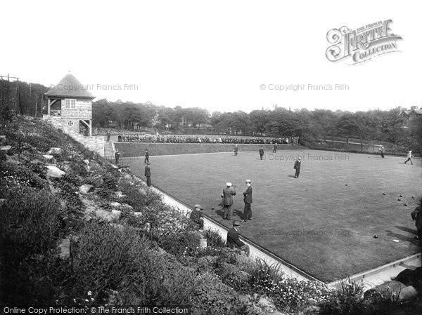Blackburn, Corporation Park Bowling Green 1923