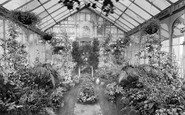 Blackburn, Corporation Park, Conservatory 1923