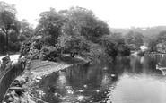 Blackburn, Corporation Park Lake 1923