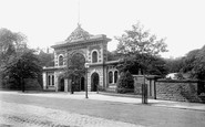 Blackburn, Entrance To Corporation Park 1894