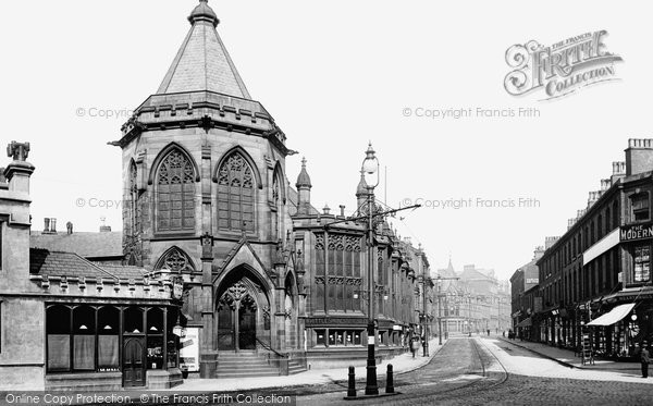 Blackburn, Exchange 1899