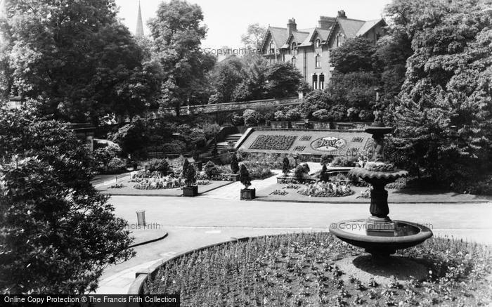 Blackburn, Garden Of Remembrance c.1955