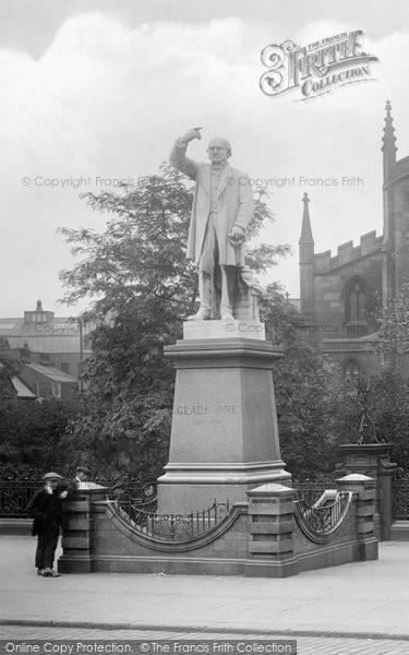 Blackburn, Gladstone Statue 1923